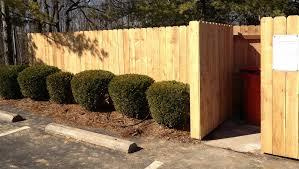 Cedar Dogear Privacy Garbage Can Enclosure Louisville By Raatz Fence Company