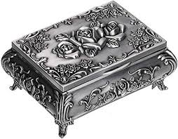 jewelry box mirrored storage holder