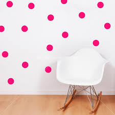 Polka Dots Vinyl Wall Decals Dorm Room Nursery Bedroom Decor 2 Ur Door