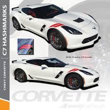 C7 Hashmark Chevy Corvette Fender Decals 2014 2018 Premium And Supreme Install Vinyl Speedycardecals Fast Car Decals Auto Decals Auto Stripes Vehicle Specific Graphics