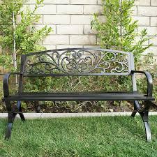 lundberg metal garden bench reviews
