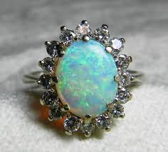 opal ring vine opal enement ring