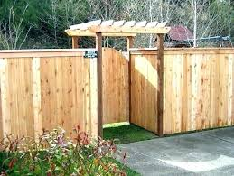 Patio Fence Ideas Fence Ideas For Front Yard Autoiq Co