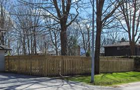 Tips For Building A Wood Fence The Post Hole Wizards 705 327 7325