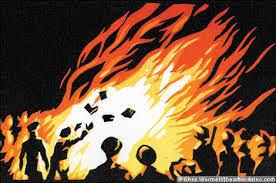 Image result for đốt sách 1975