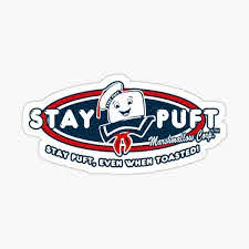 Stay Puft Marshmallow Man Stickers Redbubble