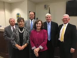 Board of Education reorganizes, honors two outgoing members – Brunswick  County Commissioner Frank Williams