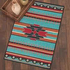 decor san juan turquoise accent rug