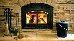 wood burning fireplace to gas logs ting