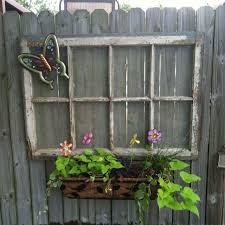 Pin By Bristal Thompson On Craft Ideas Backyard Fence Decor Fence Decor Backyard Fences