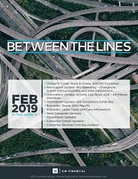 Between The Lines - February 2019