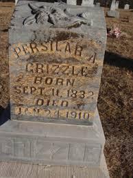 Martha Priscilla Hamilton Grizzle (1832-1910) - Find A Grave Memorial