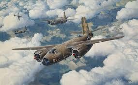 Original Aviation Art: B-26 Marauder painting | eBay