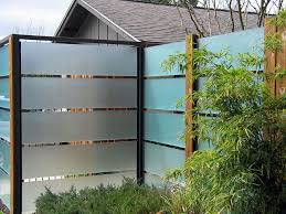 Frosted Glass Fence David Wilson Garden Design Repinned By Secret Design Studio Melbourne Www Secretdesignstudio Glass Fence Privacy Screen Outdoor Fence
