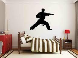Zoomie Kids Mara Martial Arts Karate Punch Personalize Wall Decal Wayfair