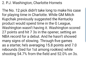 3J Swishington: The PJ Washington Jr. Thread - Page 9 - RealGM