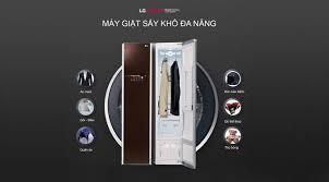 Công nghệ giặt hơi nước truesteam trên máy giặt hấp sấy LG Styler