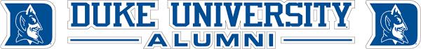 20 Duke University Alumni Text Vinyl Decal Wesellspirit Com