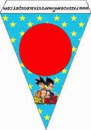 Dragon Ball Z Imprimibles Gratis Para Fiestas Ideas Y Material