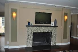 white fireplace remodel ideas