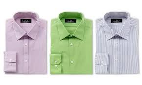 nicole miller men s dress shirts