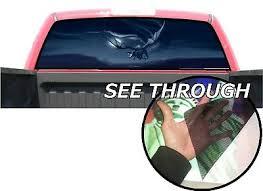 P15 Dragon Rear Window Tint Graphic Decal Wrap Back Pickup Graphics Ebay