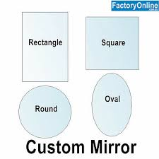 cut to size frameless large wall mirror