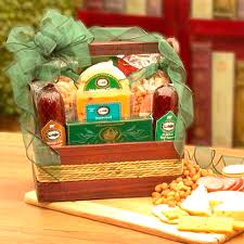 cheeses and nuts galore gift basket