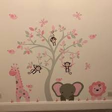 Teddy Bear Decal Nursery Wall Stickers Stars Clouds Moon Etsy In 2020 Pink And Gray Nursery Nursery Wall Stickers Baby Boy Room Decor