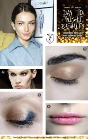 day to night make up look tutorial