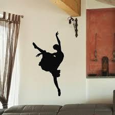 Shop Ballet Dancer Ballerina Black Swan Vinyl Wall Art Decal Sticker Overstock 10597387