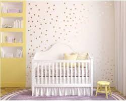 Innovative Stencils Rose Gold Polka Dots Nursery Sticker