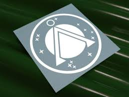 Sg 1 Stargate Logo Vinyl Decal Vinyl Decals Stargate Vinyl