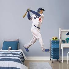 Los Angeles Dodgers Cody Bellinger Fathead Life Size Removable Wall Decal