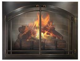 glass doors on my stove or fireplace