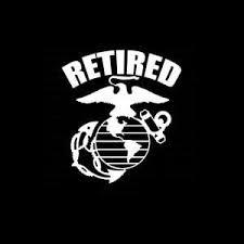 Usmc Retired Military Window Decal Stickers Custom Sticker Shop