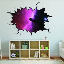 East Urban Home Outer Space Nebula Galaxy Hole Wall Decal Wayfair