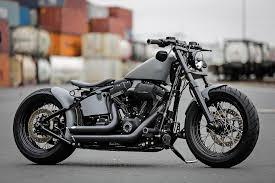 h d softail slim fls custom motorcycle