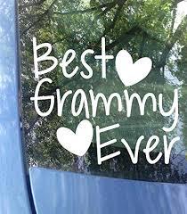 6 5 World S Best Grammy Vinyl Decal Car Window Laptop Sticker Grandma Gift