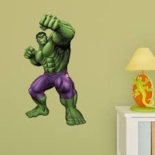 Choose Size Incredible Hulk Decal Removable Wall Sticker Art Home Decor No 2