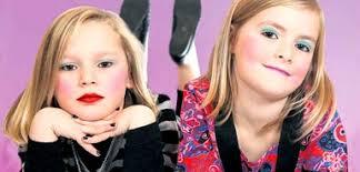 elementary s wearing makeup