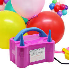 SalonMore Portable Electric Balloon Air Inflator Blower Pump ...