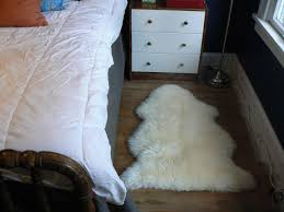 how to clean a sheepskin rug little