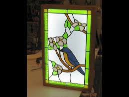 build a stained glass display light box