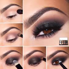 step eye makeup ideas for brown eyes