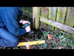 Fence Post Repair How To Fix Broken Leaning Fence Posts Quick And Easy With Post Buddy Youtube