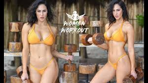 fitness model workout hope beel women