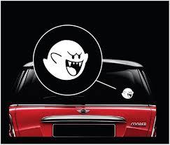 Mario Brothers Boo Window Decal Sticker Custom Sticker Shop