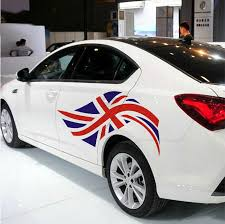 2 Pc Vinyl British Flag Car Sticker Union Jack Auto Doors Decal Fit Bmw Mini Mg3 Ebay