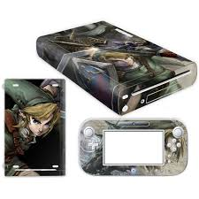 The Legend Of Zelda Skin Sticker For Nintendo Wii U Console Cover With Remotes Controller Skins For Nintend Wii U Sticker Consoleskins Co